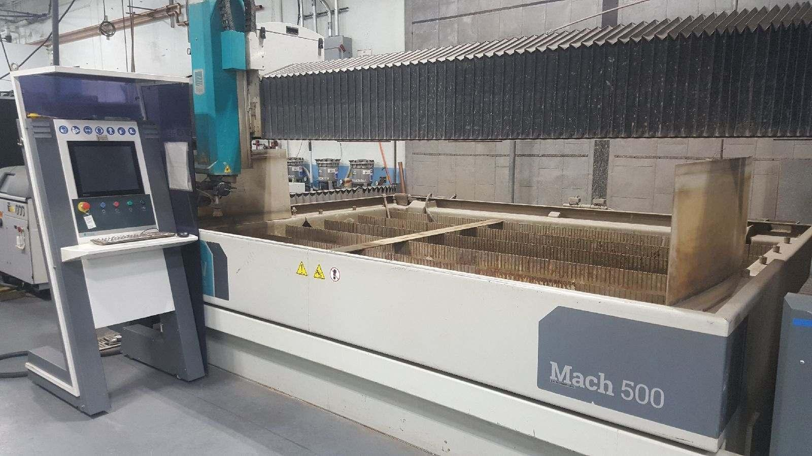 2017 Flow Mach 500 5-Axis Waterjet Cutting Systems - 2 Available!