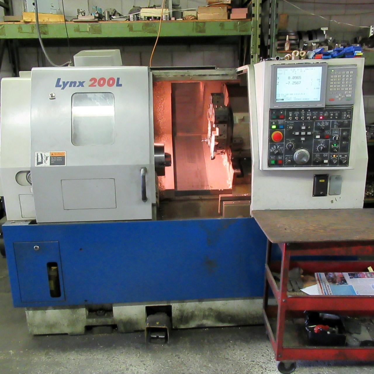 Daewoo LYNX 200LC Turning Center