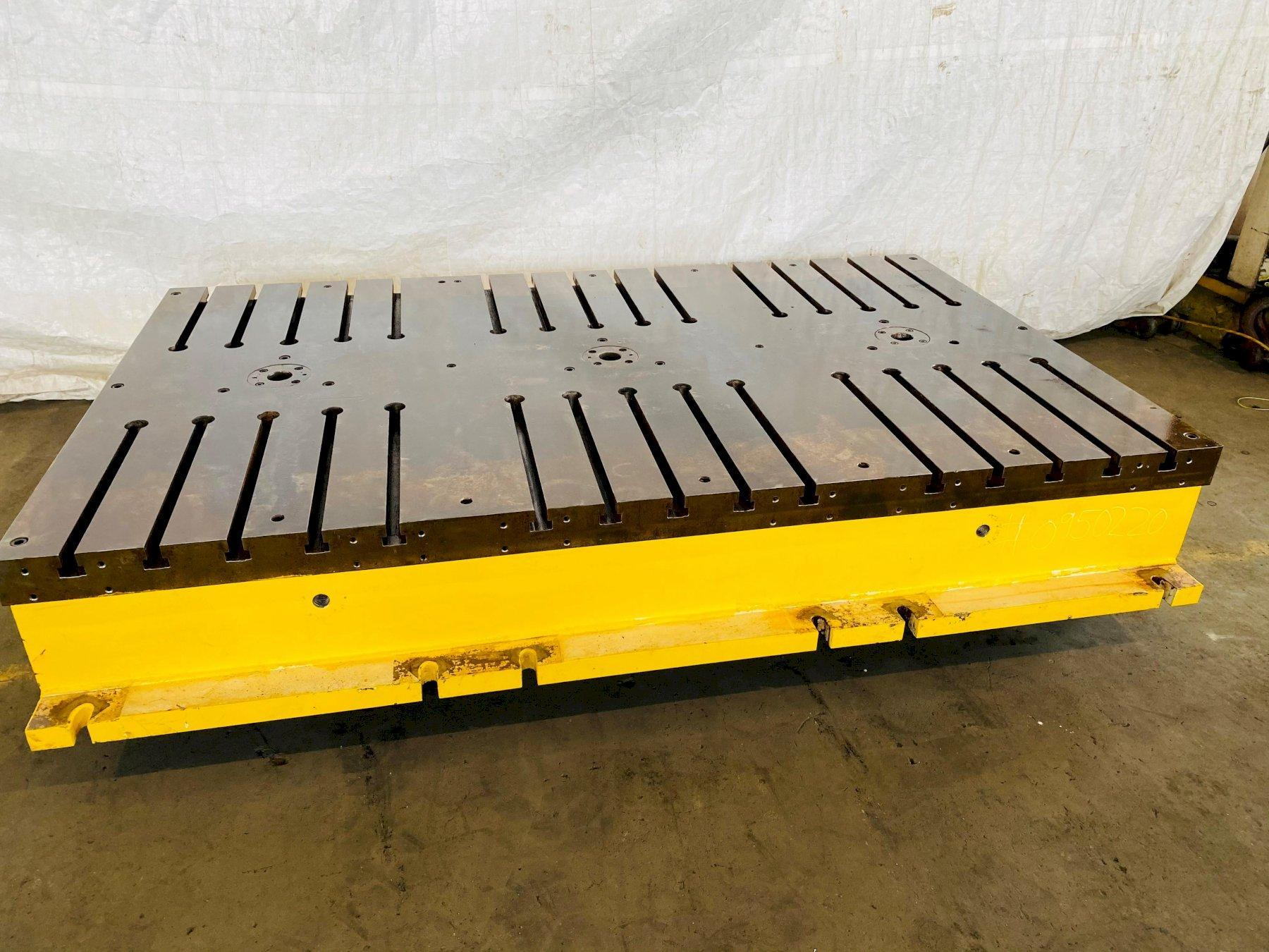 """65"""" x 107"""" x 16"""" T SLOTTED FLOOR PLATE. STOCK # 0950220"""