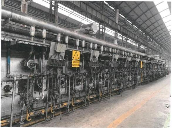 NASSHEUER ROLLER HEARTH ANNEALING FURNACE   Our stock number: 114535