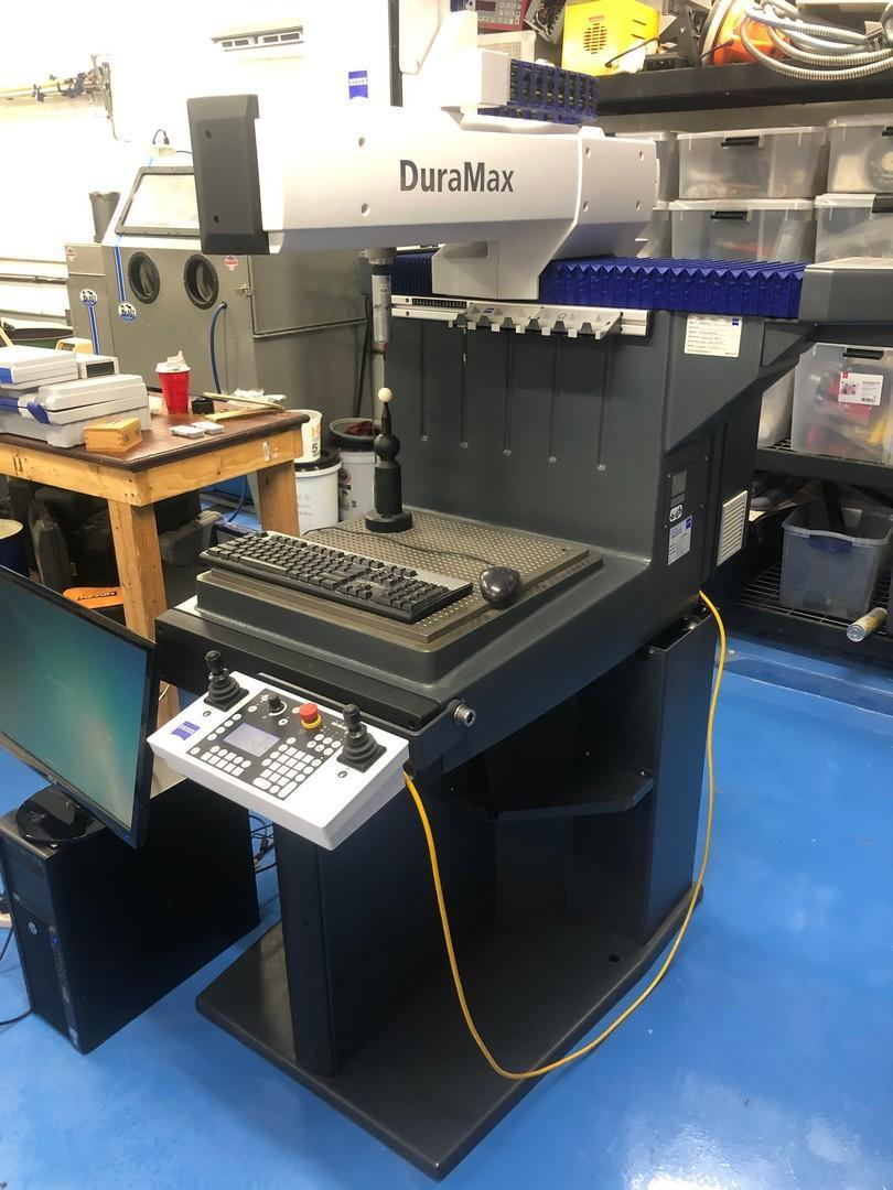 2011 Zeiss Duramax 5/5/5 DCC Coordinate Measuring Machine