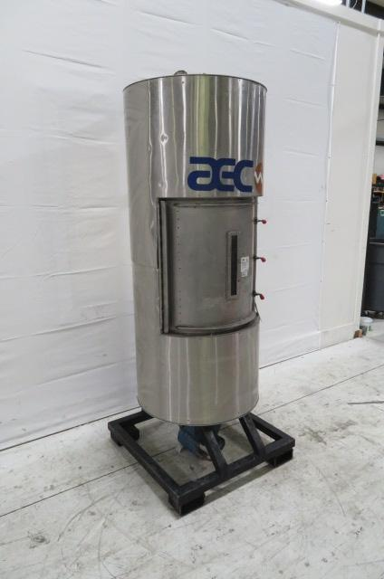 AEC Drying Hopper, 12 cu ft, 420 lb capacity, Insulated Drying Hopper