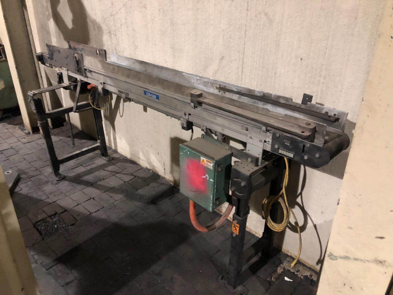 "DORNER 6"" X 8' POWERED CONVEYOR"
