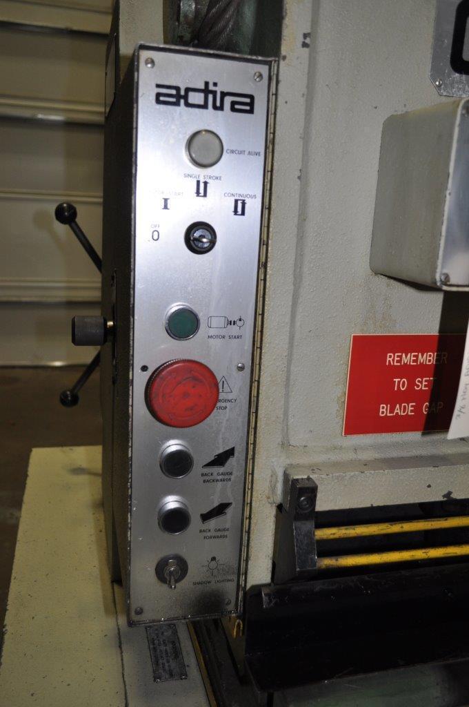 """80"""" x .156 Adira Hydraulic Shear"""