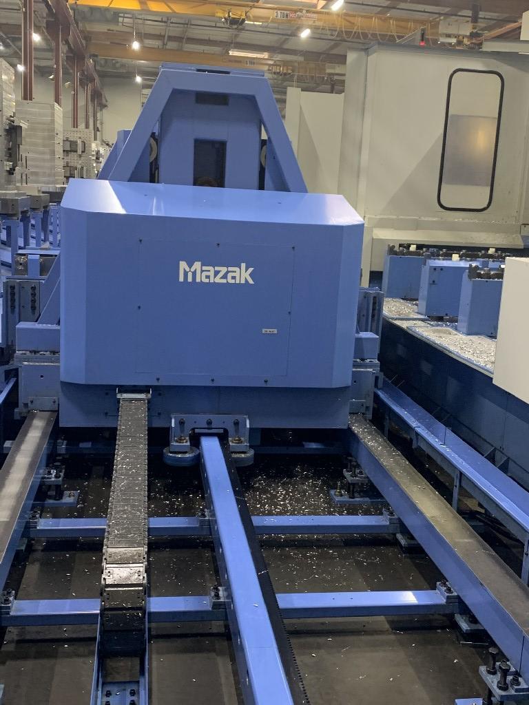 MAZAKMazak FH-1080 3-Machine Cell w/ 16 Pallets