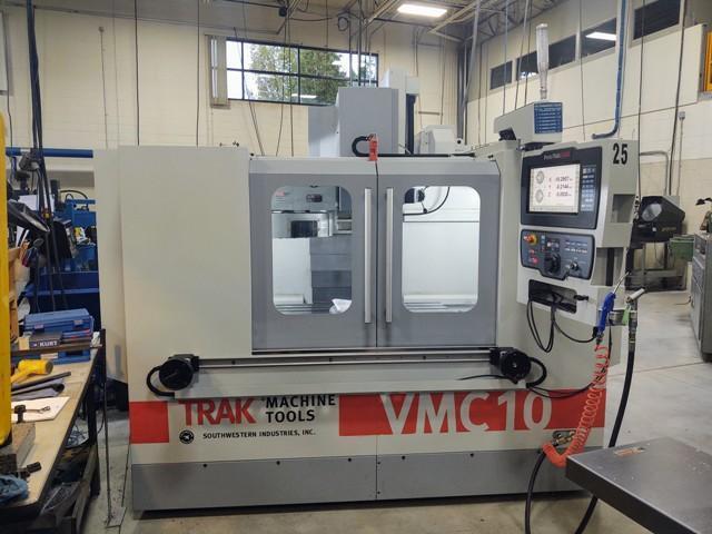 Southwestern Industries Trak VMC 10 (2020) Vertical Machining Center Prototrak RMX CNC Control