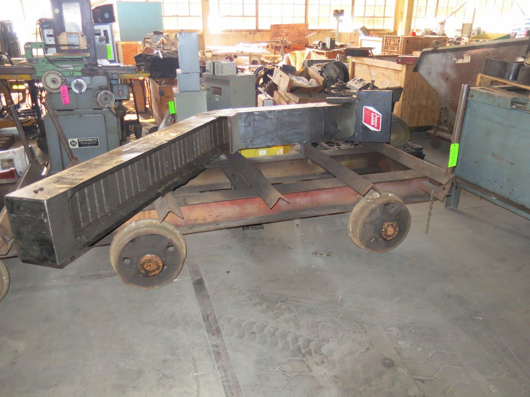 Portable Material Rail Transfer Carts