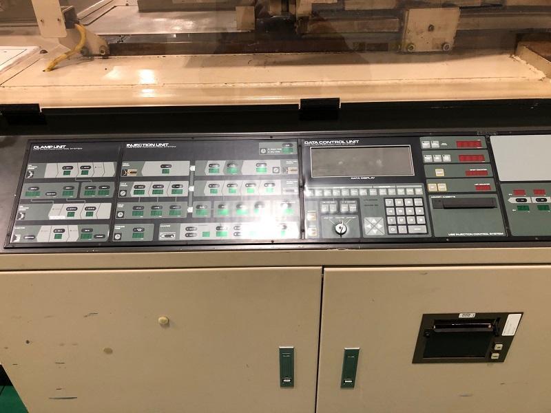 UBEMAX PZ 550-SE12A Used Injection Molding Machine, 610 US ton, 44.3 oz