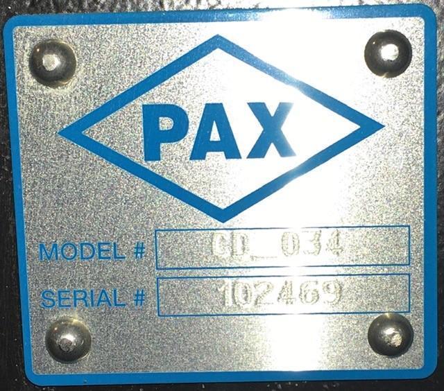 "61"" x 17"" PAX POWERED PARTS CONVEYOR"