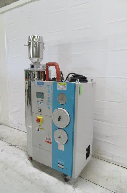 Matsui Used MJ3-50U Material Dryer, Rotary Desiccant, Approx. 50 lbs/hr, Yr. 2015. 230V