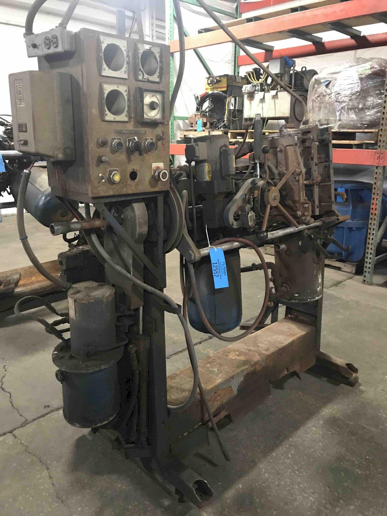 Dependable model 200fa shell core machine s/n 165 no gas panel
