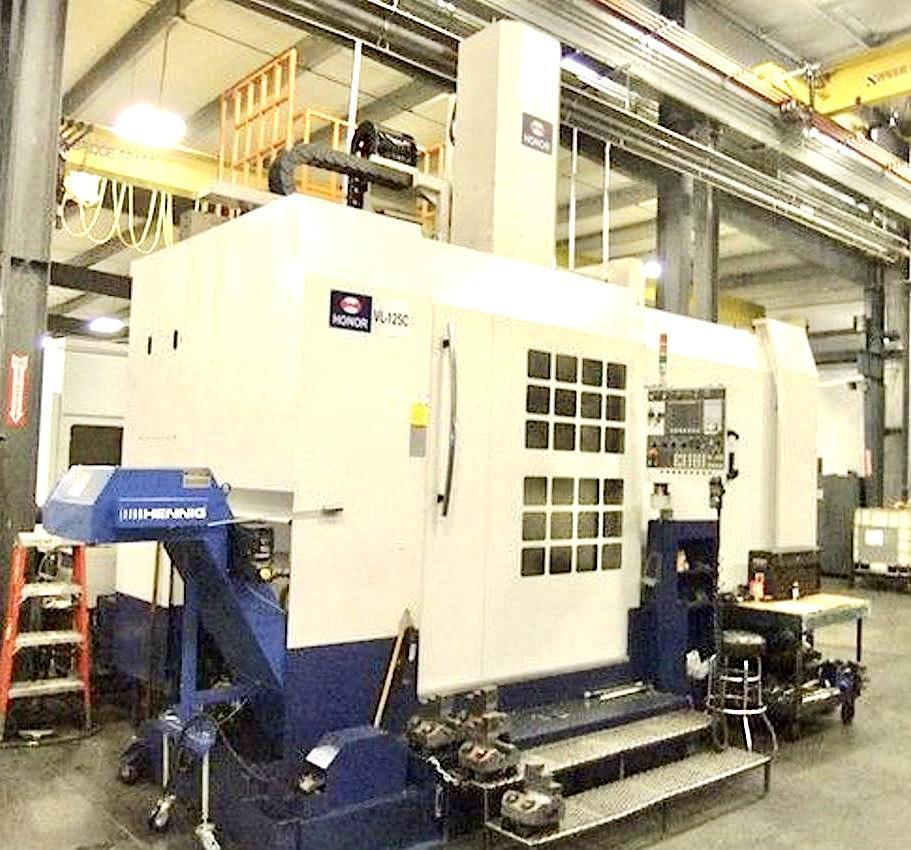 HONOR VTL 2014 VL-125C CNC VERTICAL TURNING LATHE