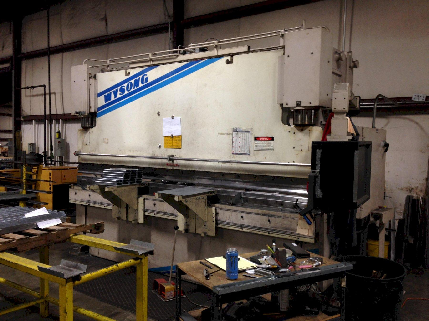 180 Ton x 12' Wysong Hydraulic Press Brake