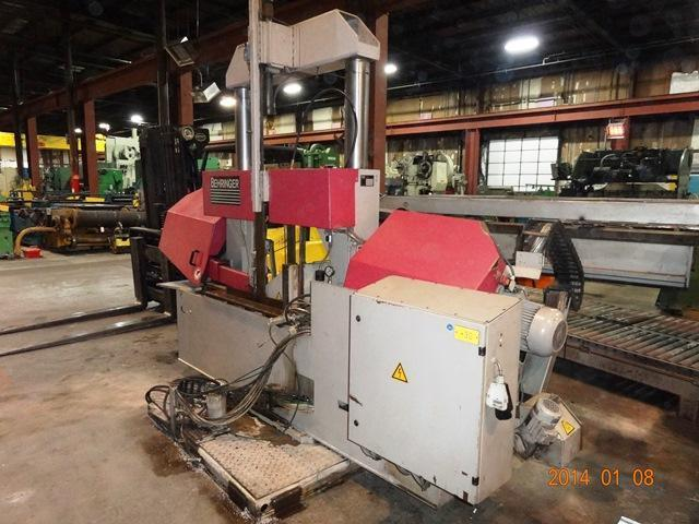 """20"""" x 20"""" Behringer Automatic Horizontal Band Saw"""