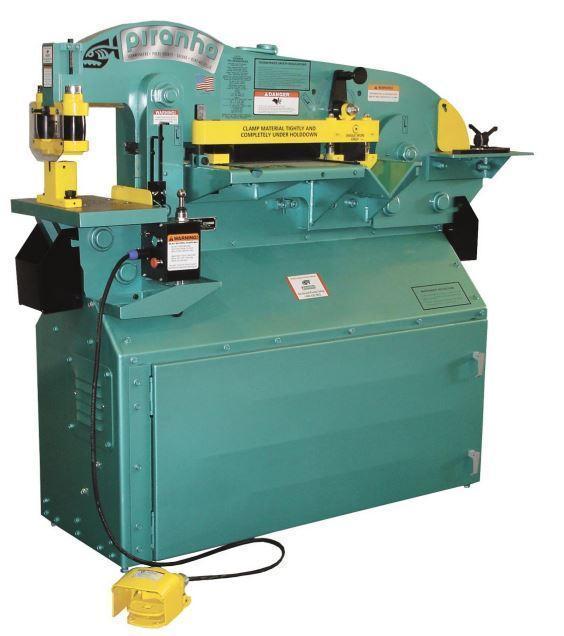 (1) NEW PIRANHA HYDRAULIC IRONWORKER, MODEL P65