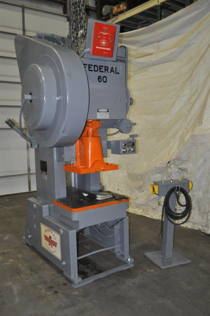60 Ton Federal OBI Press