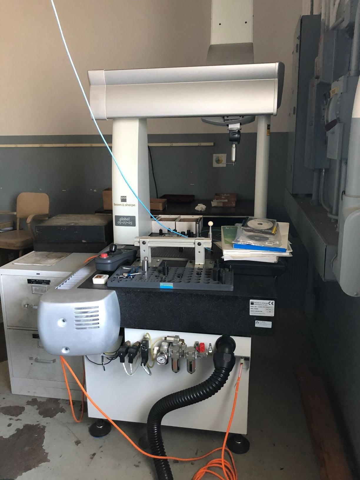 Brown & Sharpe Global Performance 5/7/5 Coordinate Measuring Machine (CMM)
