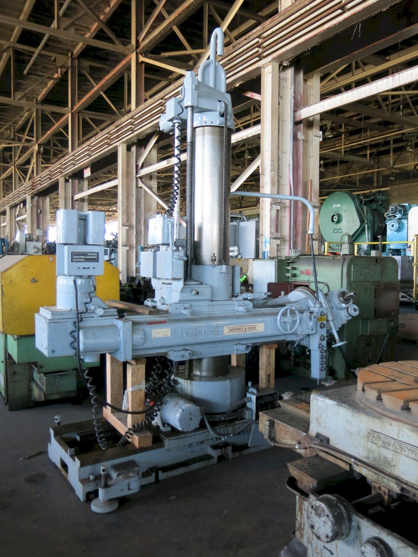 Giddings & Lewis Kakauna Portable Radial Drill