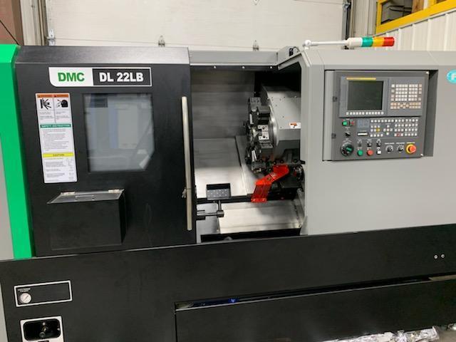 DMC Model DL 22LB CNC Turning Center, New 2019