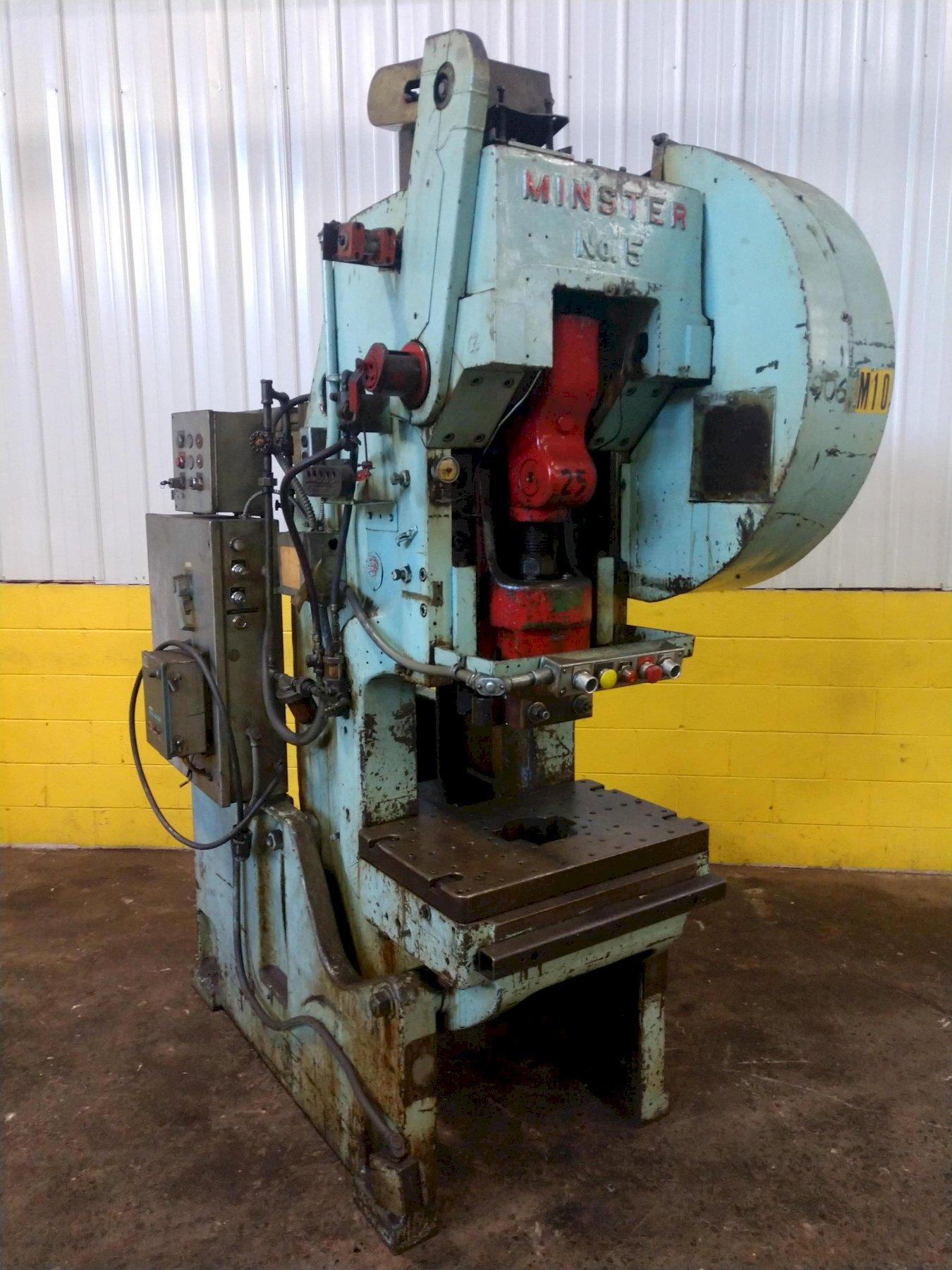 45 TON MINSTER #5 FLYWHEEL OBI PRESS: STOCK 13861