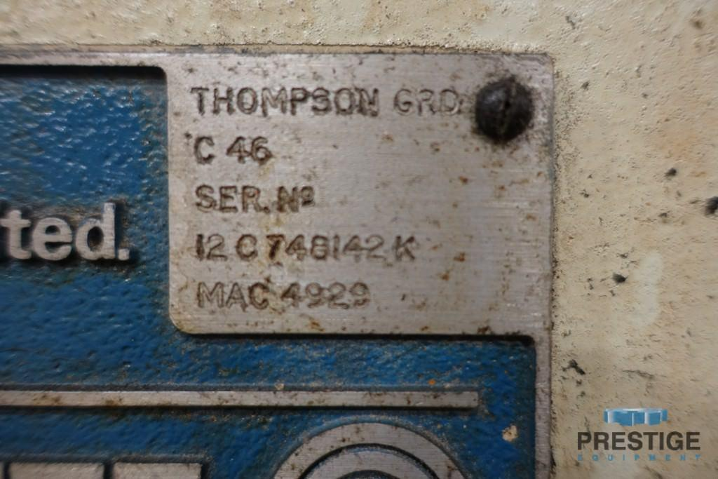 Thompson C-46 Horizontal Surface Grinder