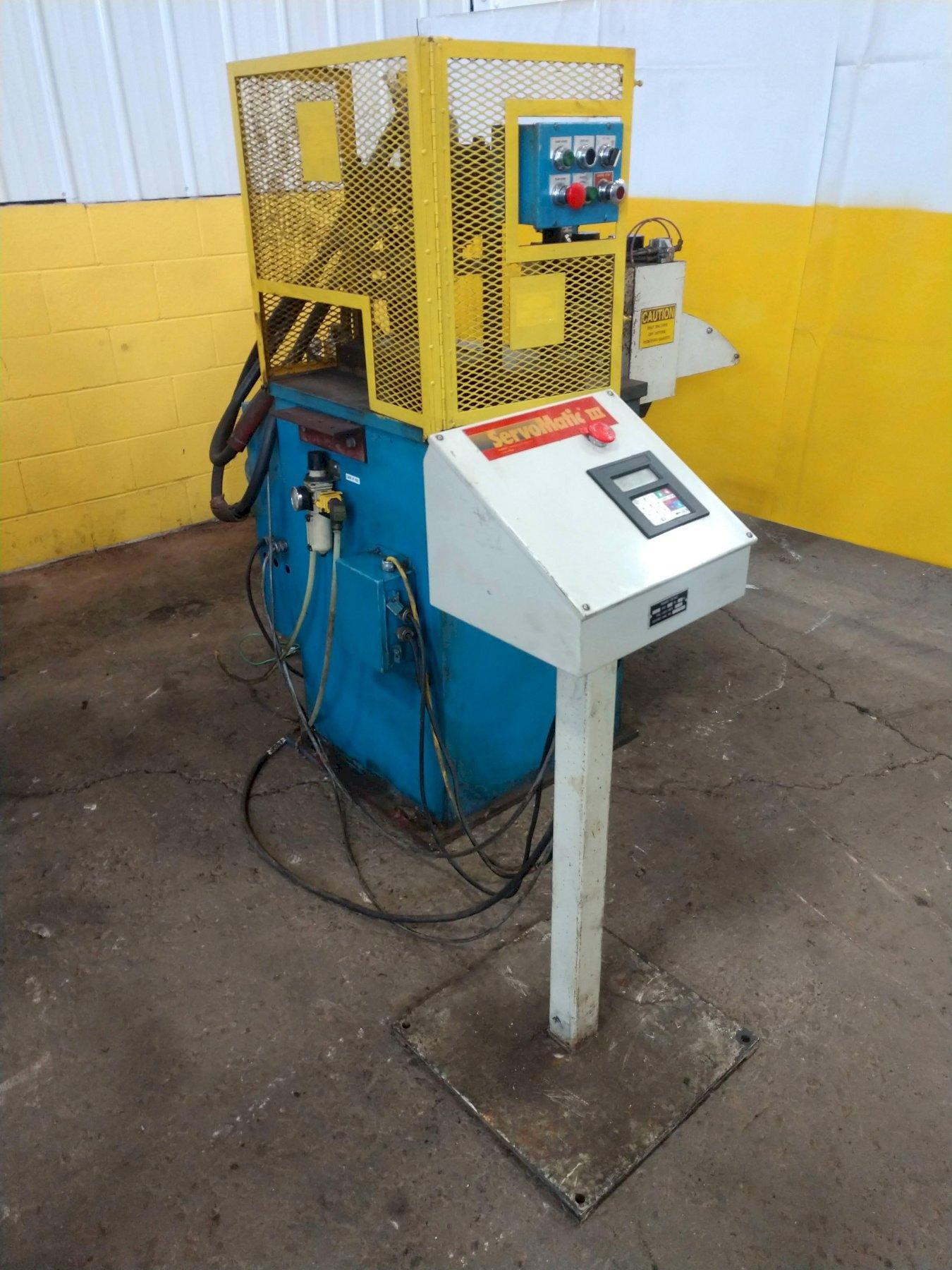 HYDRAULIC PUNCH PRESS: STOCK #13259