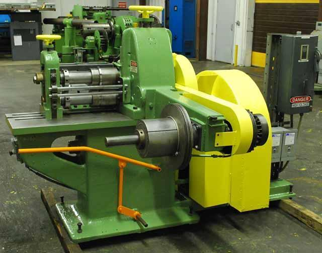 "14"" WATERBURY FARREL #2 SLITTING LINE (12791)"
