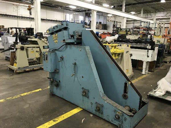 Feed Lease Coil Cradle Straightener 10,000 Lbs. x 18