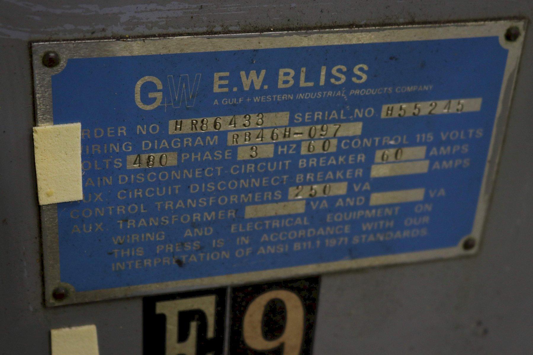 22 Ton Bliss OBI Press