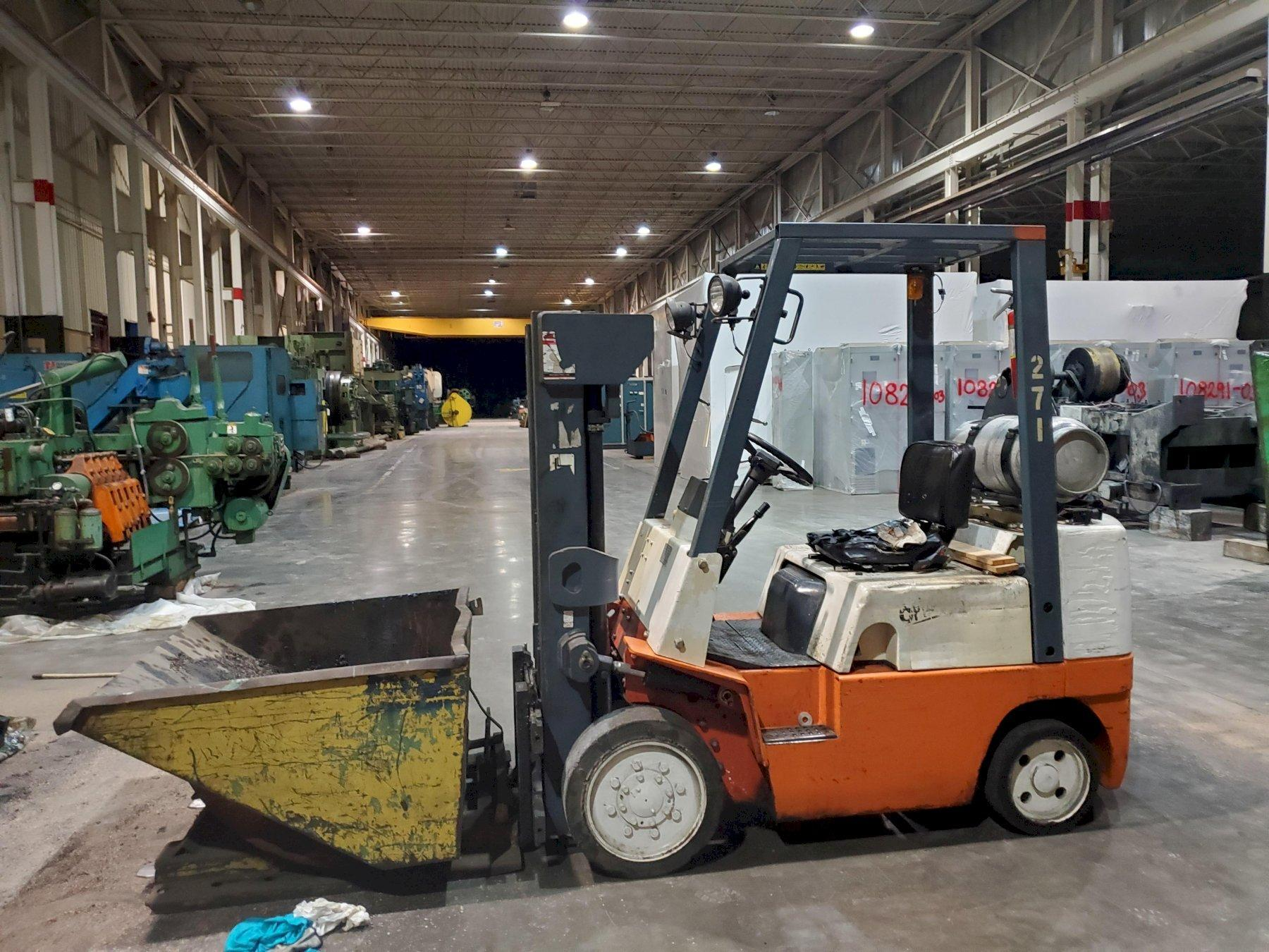 NISSAN, No. KCUGH02F30PU FORK LIFT   Our stock number: 114783