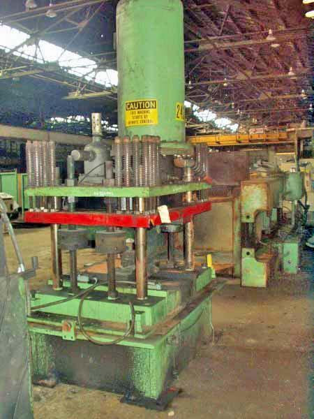 80 Ton Pneu-Power Cutoff Press