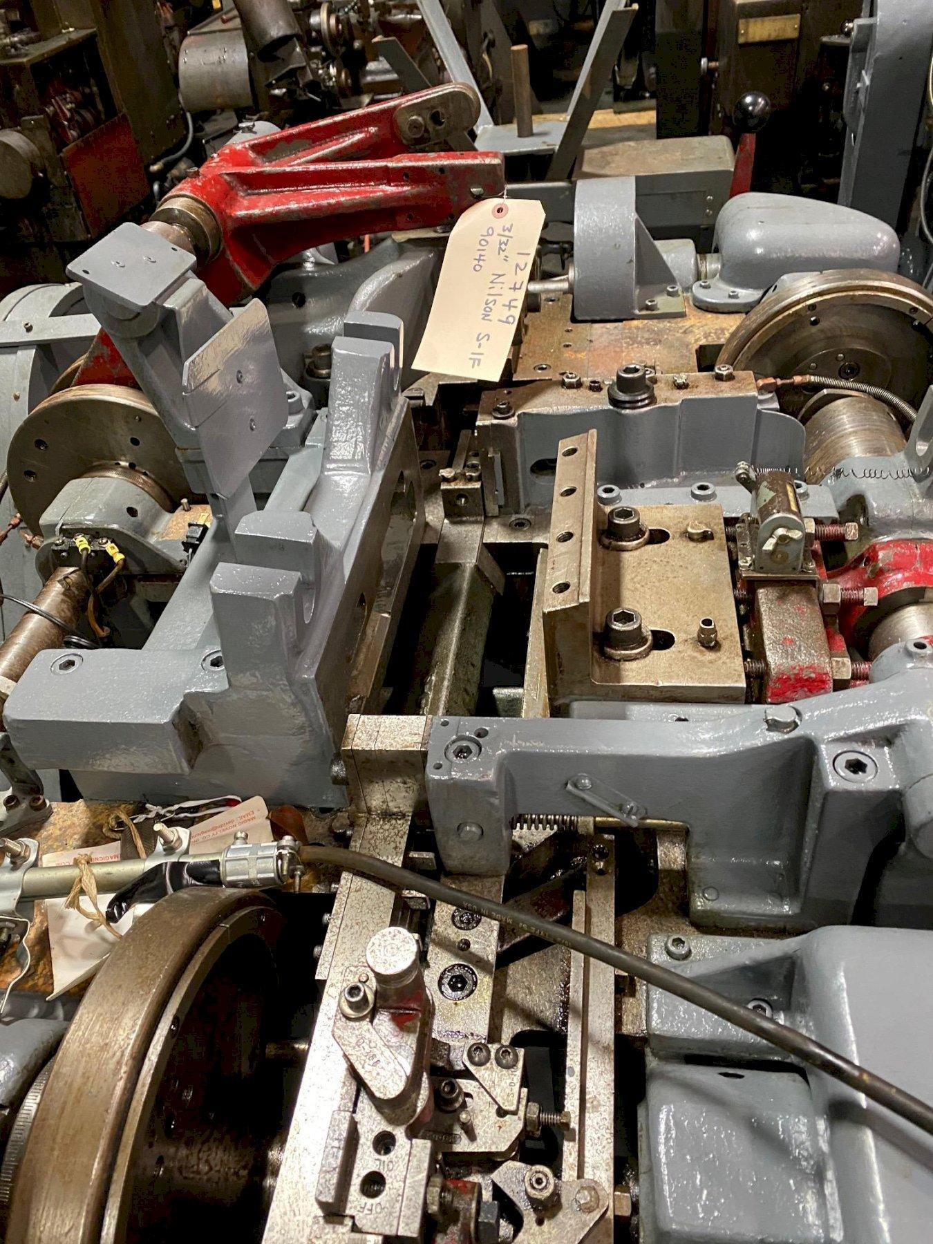 """3/32"""" Nilson Model S-1F Four Slide Wire Forming Machine"""