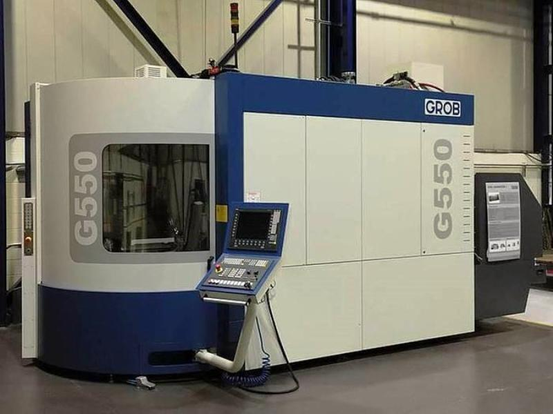 GROB MODEL G550-1851 5-AXIS HORIZONTAL MACHINING CENTER