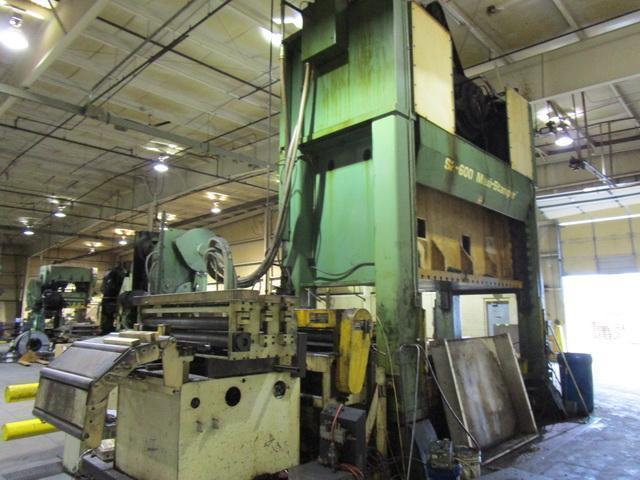600 Ton Heim Maxi Stamper Press
