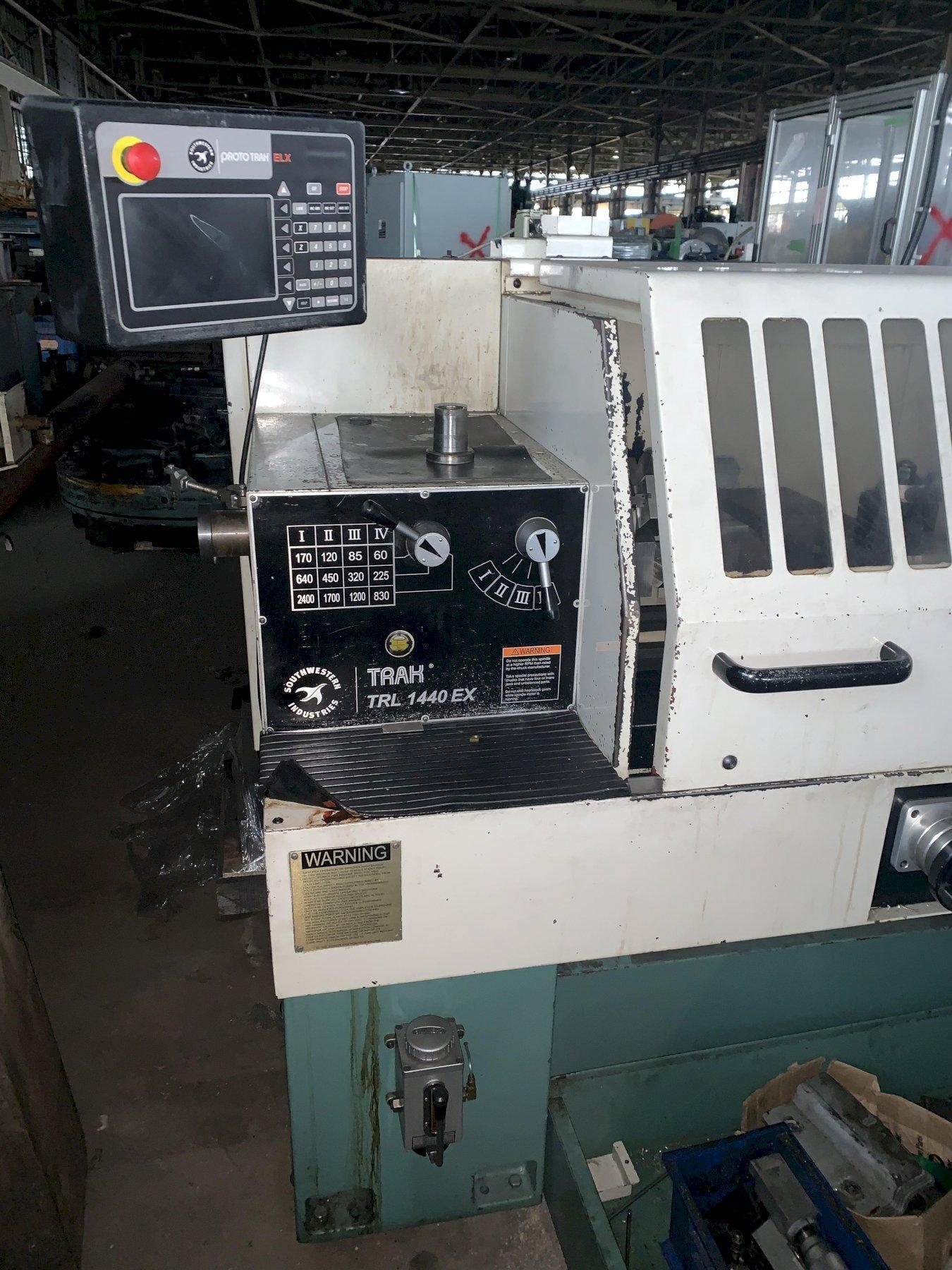 "14"" x 40"" Southwestern Industries Model TRAK TRL-1440EX CNC Lathe"