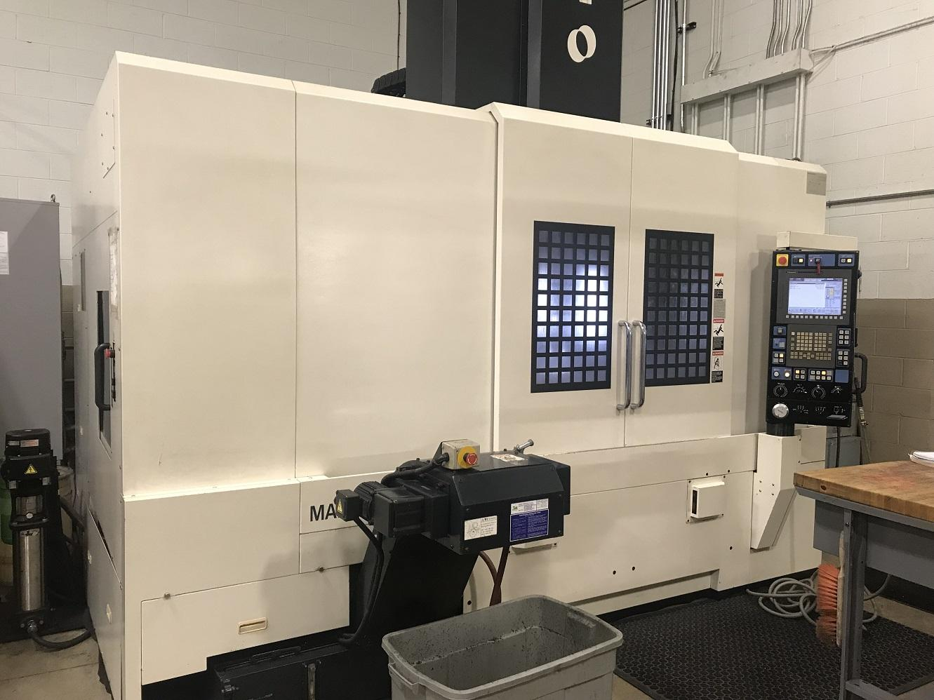 "Makino V77, Fanuc Pro 5, CTS,SGI 4, 47""/27""/25"", 20k RPM, Scales, HSK63, Data Server, Probing, ATLM, 30 ATC, 5500 lb Cap., New Spindle 2015, C/C, 2006"