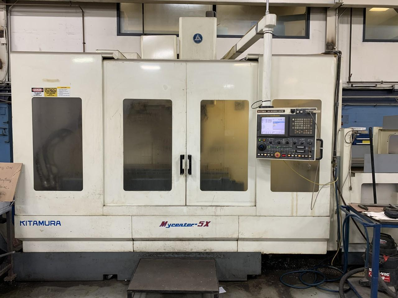 KITAMURA MYCENTER 5X VERTICAL MACHINING CENTER (VERY LOW HOURS, 2690 CUTTING HOURS)