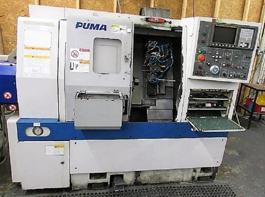 DAEWOO PUMA 160 GT 2-AXIS CNC GANG TURN TURNING CENTER LATHE