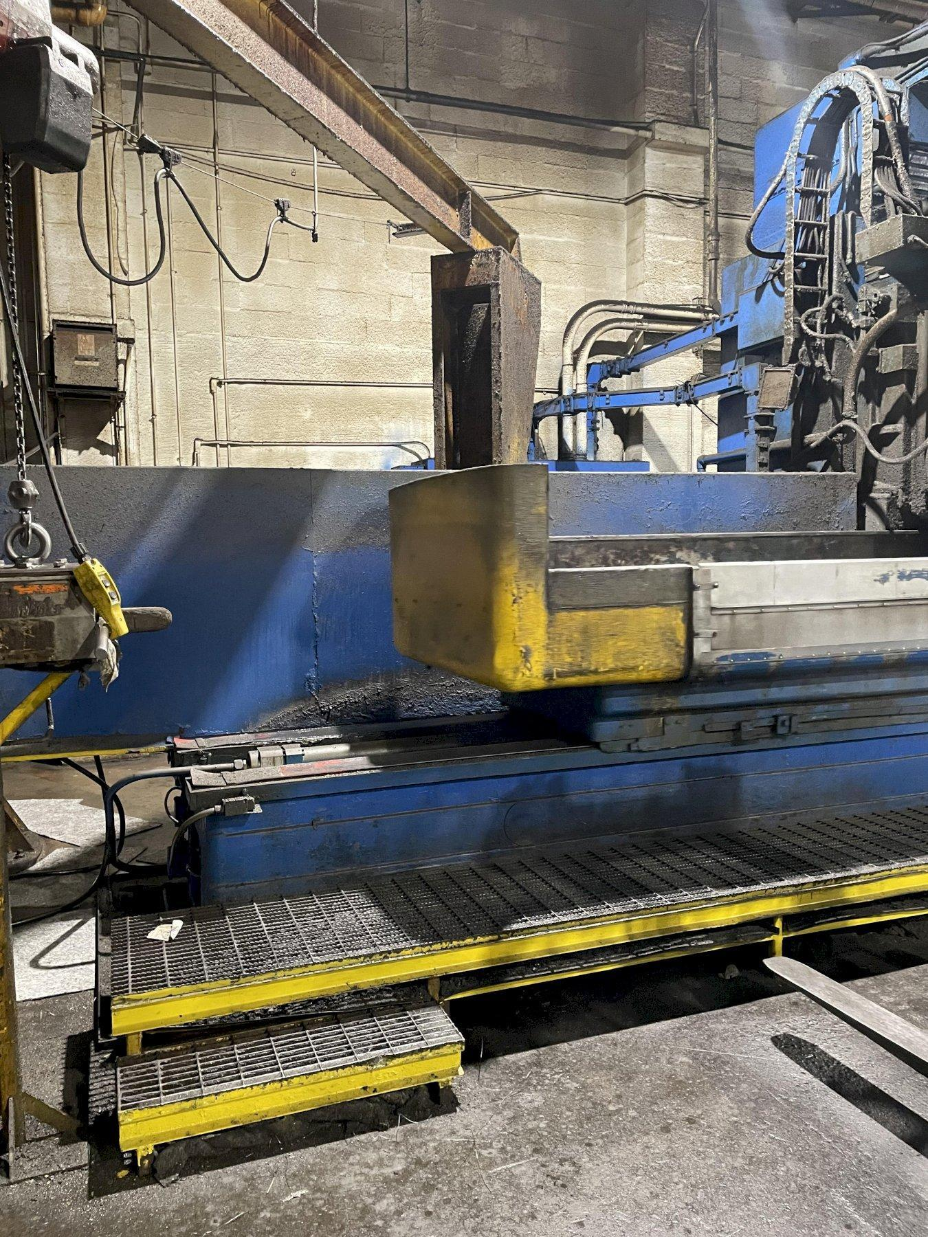 """36"""" X 150"""" MATTISON 400S VERTICAL ROTARY SURFACE GRINDER. STOCK # 0417021"""