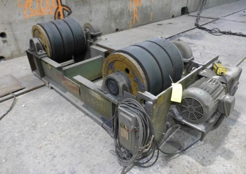 15 TON PANDJIRIS POWERED TANK TURNING ROLLS: STOCK #13345