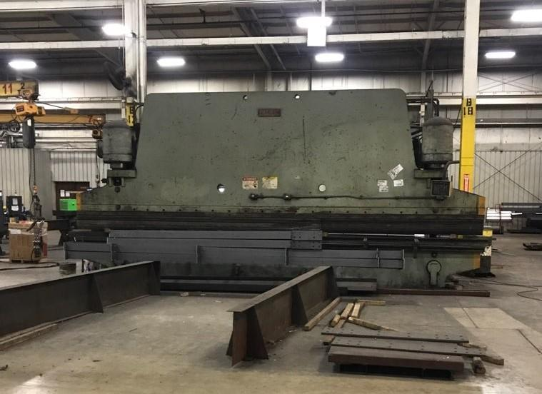400 TON X 24' PACIFIC MODEL K400-24 HYDRAULIC PRESS BRAKE: STOCK #13833
