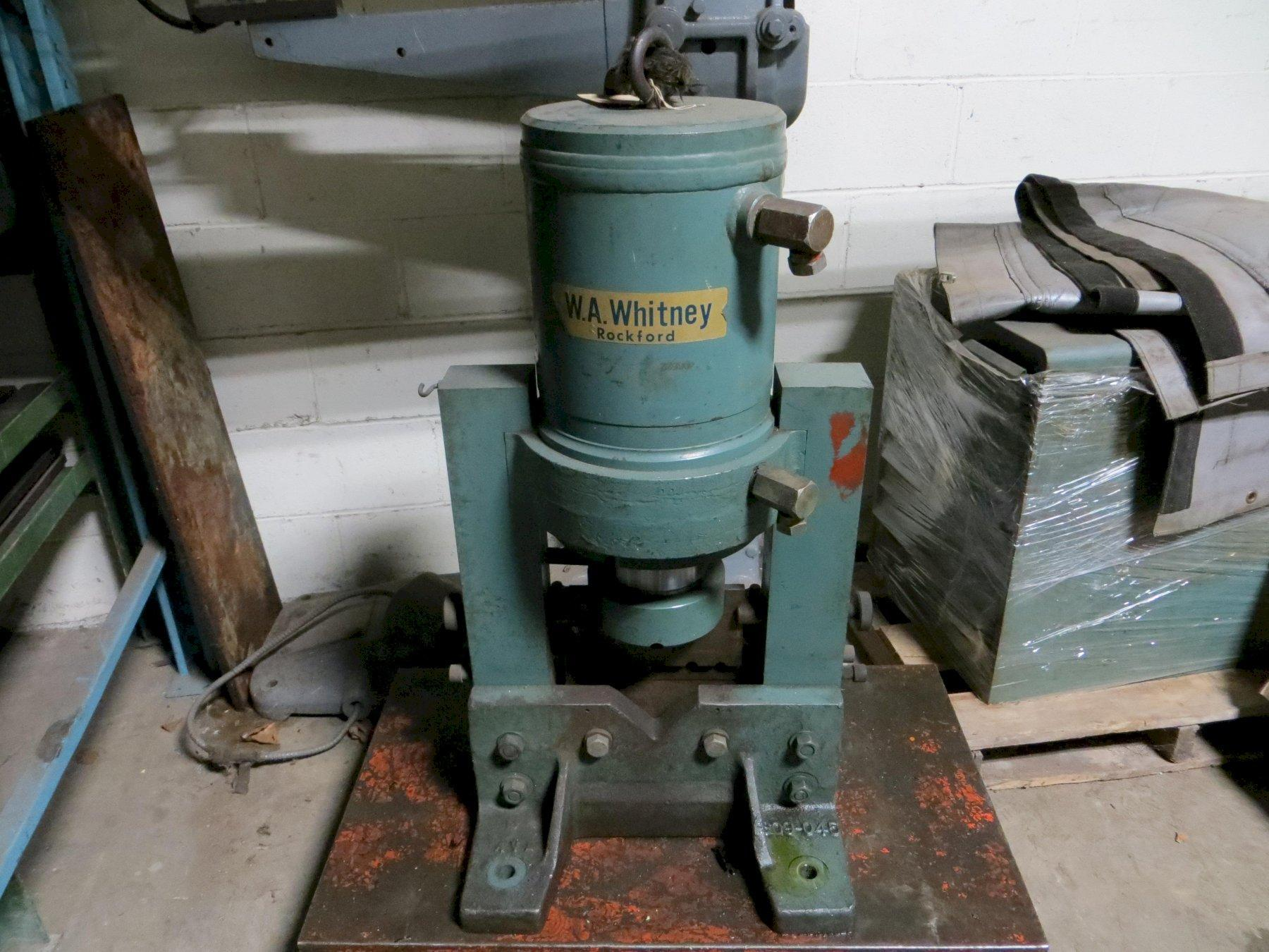 Used WA Whitney Angle Shear Model 609B