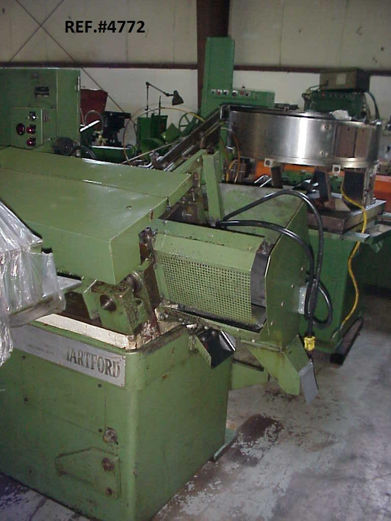 #20 Hartford/Tanisaka  20-225 Automated Flat Die Thread Roller