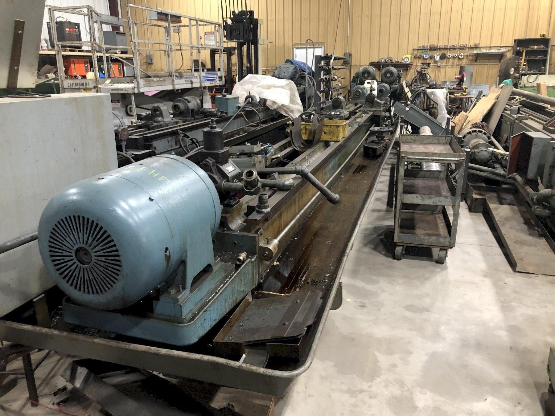 "1 ½B x 81"" Pratt & Whitney Deep Hole Drilling Machine"