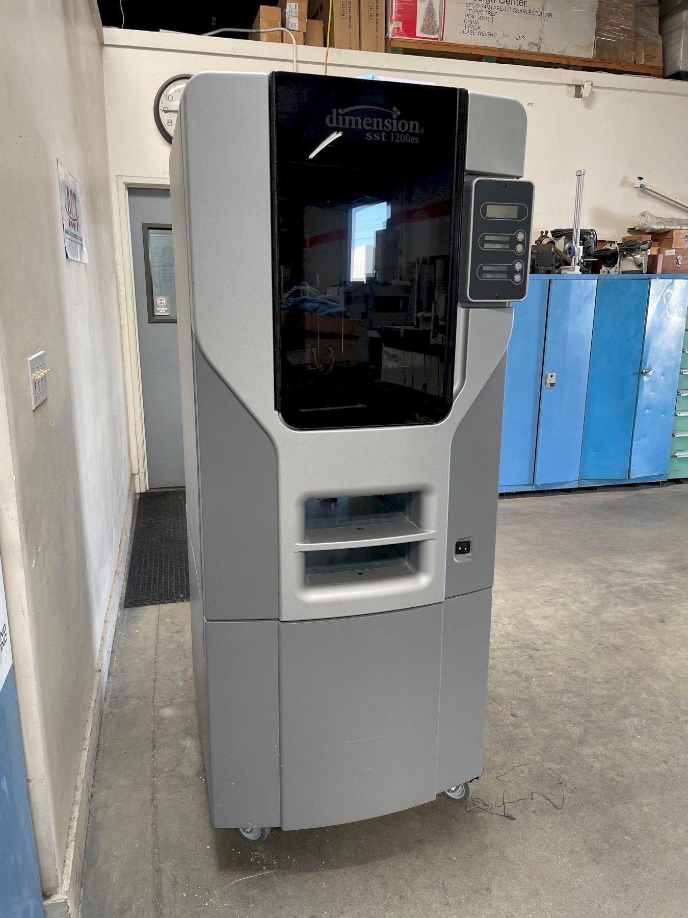 "Stratasys Dimension SST 1200ES 3D Printer 2015, 10"" x 10"" x 12"" Build Volume and SCA-1200HT."