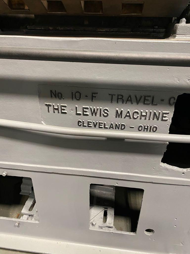 """5/8"""" Lewis Model 10-F Wire Straightening and Cutting Machine"""