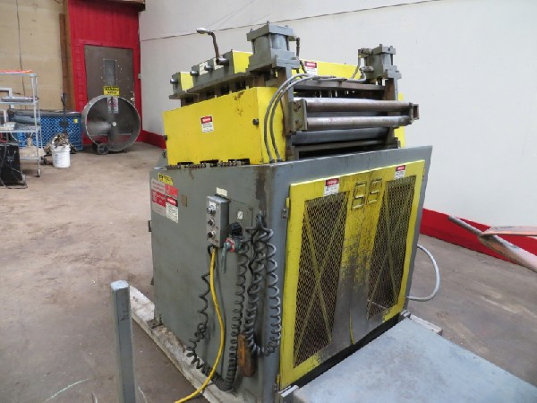 """(S) Air Feeds Inc. Powered Coil Straightener 30"""" Wide x .060"""""""