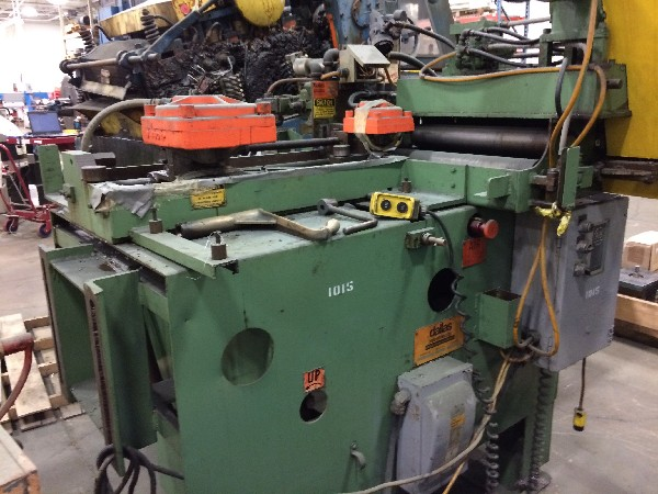 (S) Dallas Industries Air Feed - Straightener Combination 18