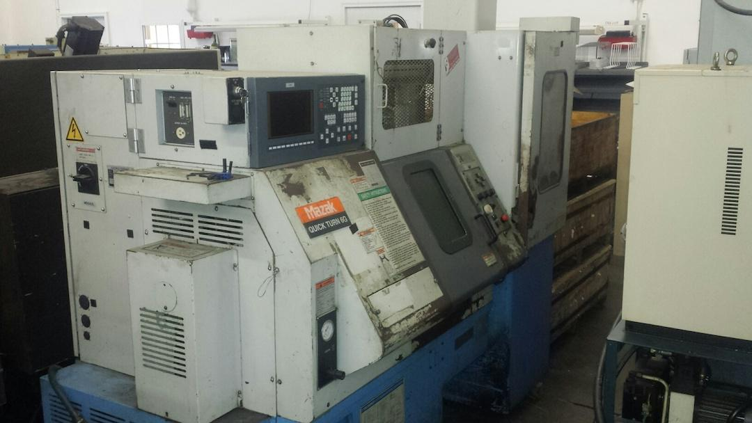 Mazak Quick Turn 6G CNC Turning Center / with Flex – GL6 Robot Loader