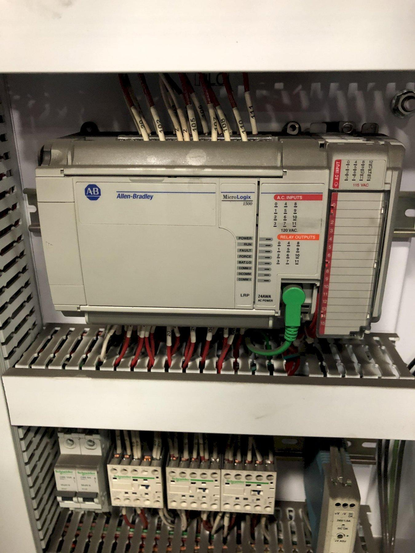 DEPENDABLE MODEL 400FA SHELL CORE MACHINE S/N 353-400FA WITH ALLEN BRADLEY MICROLOGIC 1500 PLC CONTROL AND GAS PANEL AND SAND FEED (EXCELLENT CONDITION)